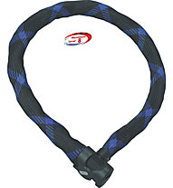 Abus Steel O-Chain 7210/110, Black/Blue