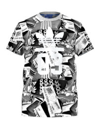 Adidas 3 Foil Street T-Shirt Kurzarm