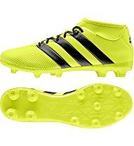 Adidas Ace 16.3 Primemesh FG/AG - scarpe da calcio per terreni compatti/sintetici, Yellow
