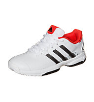 Adidas Barricade Team 4, Ftwr White/Iron Met/Bright Red