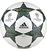 Adidas Finale 16 UEFA Champions League - Mini CL-Ball, White/Grey