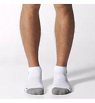 Adidas HC Ankle Sock, White/Medium Grey Heather/Black