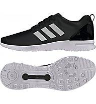Adidas Originals Low ZX Flux Smooth W Scarpe tempo libero donna, White/Black