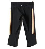 Adidas Response 3/4 Tights W, Black/Light Orange