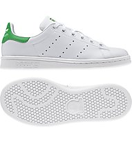 Adidas Originals Stan Smith J - scarpe da ginnastica bambino, White