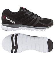 Reebok Sublite XT Cushion MT scarpa da ginnastica, Black/Grey