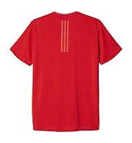 Adidas Supernova SS Tee Runningshirt, Red