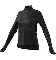 Adidas Supernova Storm Sweatshirt Damen-Pullover zum Laufen, Black