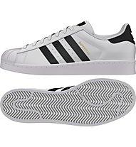 Adidas Originals Superstar Sneaker Herren, White/Black