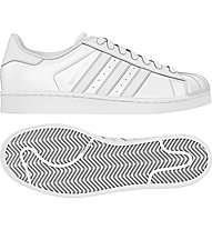 Adidas Originals Superstar Foundation - scarpa da ginnastica, White