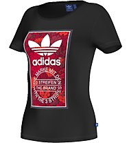 Adidas Tl Slim Tee T-shirt fitness donna, Black