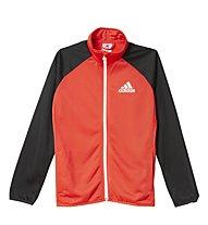 Adidas Tracksuit Entry Open Hem Trainingsanzug Kind, Vivid Red/Black
