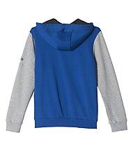 Adidas Tracksuit Hojo FT Closed Hem Trainingsanzug Jungen, Blue/Medium Grey