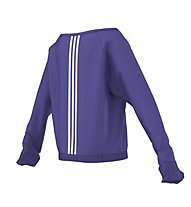 Adidas Wardrobe Dance felpa ragazza, Power Purple
