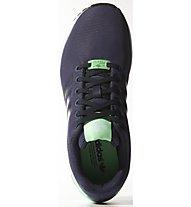 Adidas Originals Zx Flux W - Originals Freizeitschuhe Damen, Blue/Green
