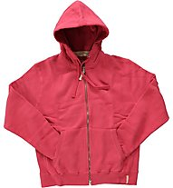 Aka Blue Zip Hoodie Phat Sweat, Red