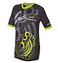 Apura Space Commando Jersey bici bambino, Black/Yellow