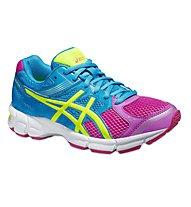 Asics Gel Pulse 7 GS - Sportschuhe für Mädchen, Pink/Yellow