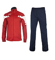 Asics Suit Player Jr Tuta da ginnastica bambini, Blue/Red
