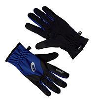Asics Winter Glove guanti running, Indigo Blue