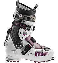 Atomic Backland W - scarpone scialpinismo donna, White/Violet/Black