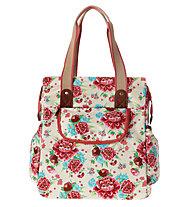 Basil Bloom Shopper, White/Gardenia