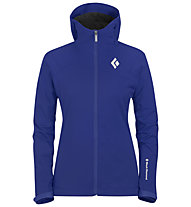 Black Diamond Dawn Patrol LT Shell Jacke Damen, Spectrum Blue