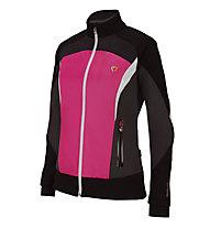 Briko Giacca fondo donna ADV Trail XC, Fumo/Black/Lava/Pink Flame