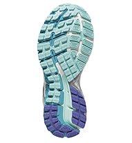 Brooks Adrenaline GTS 16 W - Damenlaufschuh, Silver/Light Blue