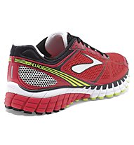 Brooks Aduro 3 - scarpa running, Red/Black