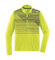 Brooks Dash 1/2 Zip maglia running, Nightlife Macro