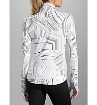 Brooks Dash 1/2 Zip W - maglia running donna, White