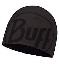 Buff Logo Graphite Hat Fleecemütze, Grey