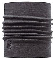 Buff Merino Wool Thermal Neckwarmer Buff Grey Scaldacollo, Grey