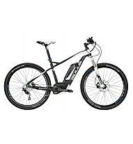 Bulls Six50 E 1 PS (2016) E-Mountainbike, Black matt/White