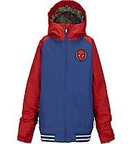 Burton Boys Game Day giacca snowboard bambino, Spider Man