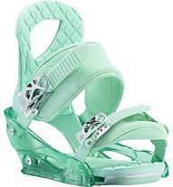 Burton Stiletto Re:Flex Attacchi Snowboard donna, Green