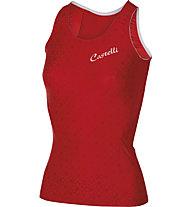 Castelli Bellissima Top Damen-Radtrikot, Red