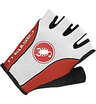 Castelli Free Glove, White/Red/Black