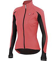 Castelli Illumina Jacket - giacca bici da donna, Coral