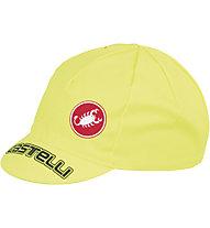 Castelli Velocissimo Tour Cap, Yellow Fluo