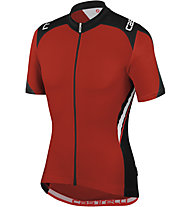 Castelli Vincente Jersey FZ, Red/Black