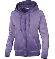 Dimensione Danza Heavy Jersey with Treatment Kapuzenjacke Damen, Lavender