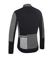 Dotout Race Wool Light Jacket, Melange Dark Grey/Black