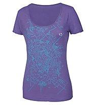 E9 New Start T-Shirt Donna, Lavender