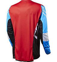 Fox Flexair DH LS Jersey Downhill-Shirt, Cyan