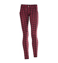 Freddy WR.UP Shaping Effect 7/8 pantaloni donna, Red/Grey