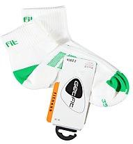 Get Fit Fitness L Bi-Pack Socken, Green