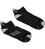 Get Fit Fitness C Bi-Pack Sneaker-Socken, Black