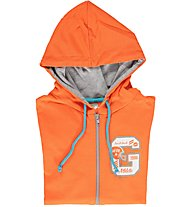 Get Fit Sweatshirt-Kapuzenjacke Kinder, Orange